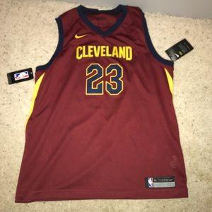 Lebron James authentic nba Cleveland jersey